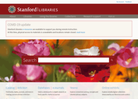 www-sul.stanford.edu