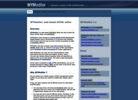 wymeditor.org