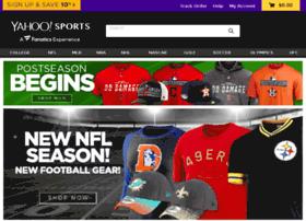 yahoosports.teamfanshop.com
