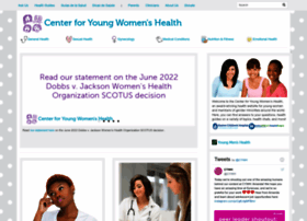 youngwomenshealth.org