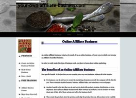 Your-own-affiliate-business.com