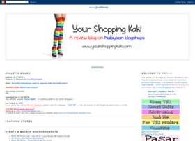 yourshoppingkaki.blogspot.com