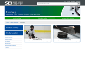 Youthhockey.slco.org