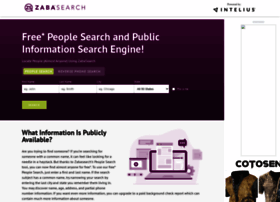 Zabasearch.com